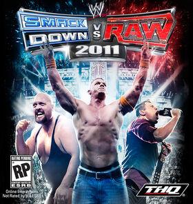WWE SvR 2011 - cover