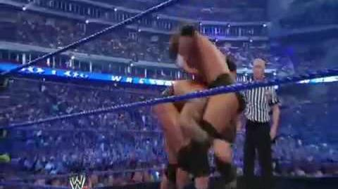 Wrestlemania 25 Triple H beats Orton