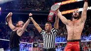 Ambrose and Rollins wins Raw Tag Team Champion