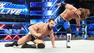 Styles sends muitple kick behind Rusev