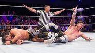 TJ Perkins defeated Johnny