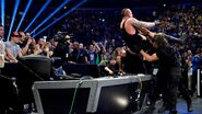 Undertaker powerbomb through the announce table