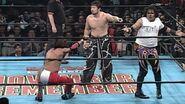 Super Crazy against Tajiri