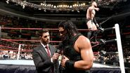 Balor above while Roman