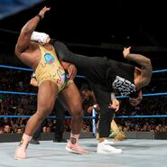 Jey-Uso superkick Big-E