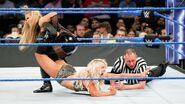 Natalya's second attempt at a Sharpshooter