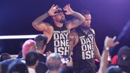The Usos are intent