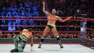 Cesaro gettin ready to Swiss on Matt-Hardy