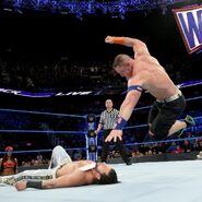 John Cena knuckle shuffle on Fandango