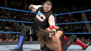 Owens punches Styles