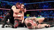 Kevin-Owens and Sami-Zayn beaten Randy-Orton