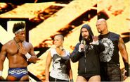 Darren with CM-Punk and Gallows