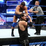 Roode pulled Corbin hair