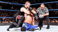 Owens grappling Styles