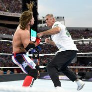 Shane McMahon unleashes a flurry of strikes on AJ Styles