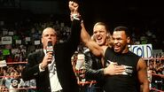 Shawn Michaels and TripleH with Mike-Tyson