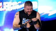 Kevin-Owens winning as three-times United States Champion