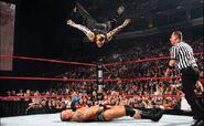 Hardy senton bomb on Orton