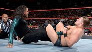 Miz locks Jeff-Hardy in the Figure-Four Leglock