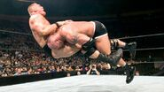 Brock Lesnar speared by Goldberg