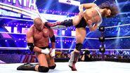 Bryan kicking Triple H