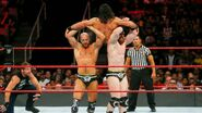 Cesaro and Sheamus lift Rollins