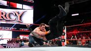 John-Cena hit Reigns with an AA