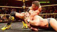 Tyson Kidd grappling Wilder