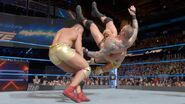 American Aphla finishing Randy Orton