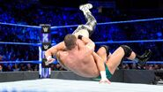 Roode hit Ziggler with a DDT