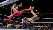 Nakamura striked kicked Mahal