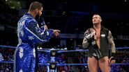 Roode congratulates Orton for beating him for the titles