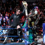 The Miz & the undefeated Asuka