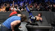 The Shields destory AJ Styles