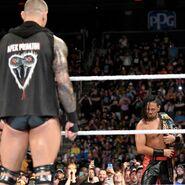 Orton stared at Nakamura