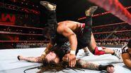 Jordan roll up pin on Wyatt