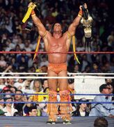 UltimateWarrior as WWE and Intercontine Champions