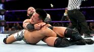 Neville putting Tozawa in submission