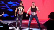 Rollins and Ambrose