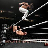 Andrade Almas stepped on Gargano