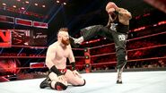 Gallows big-boot to Sheamus
