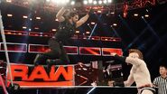 Rollins jumps on Sheamus