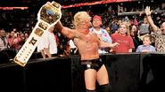Dolph winning his third Intercontinental Champion