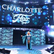 Charlotte Flair makes an epic entrance