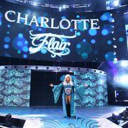 Charlotte Flair makes an epic entrance