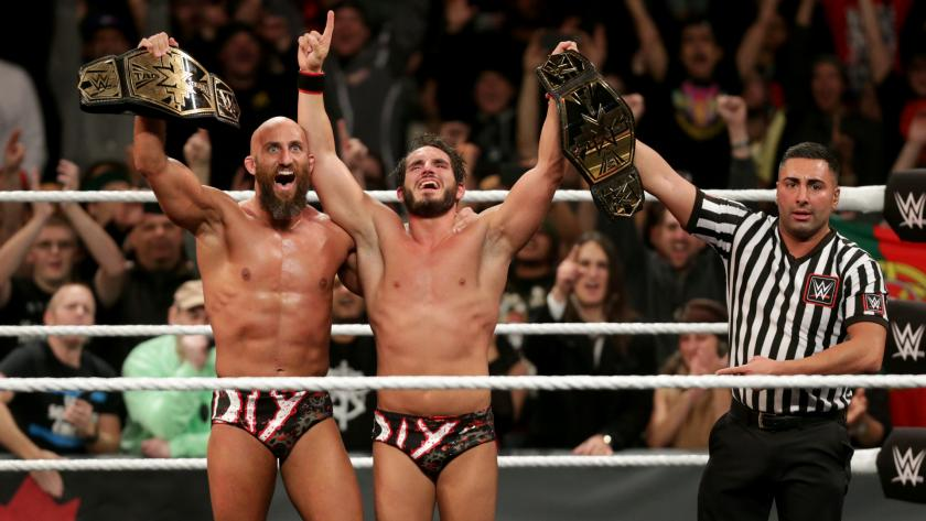 Image result for diy nxt tag team champions