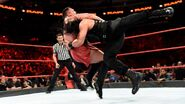 Reigns recovers to plant Joe with an earth-shattering Spear