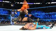 Becky leg-drop on Mickie James