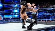 Rusev kicks out Styles