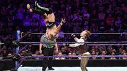 Kalisto jumps onto Gallagher